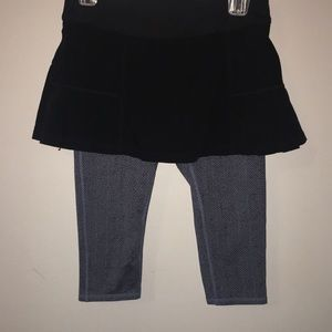 Athleta Skort with Leggings